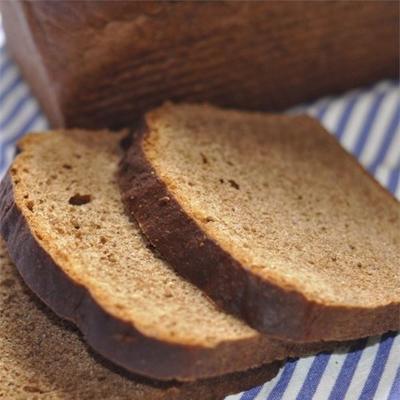 pão totalmente de centeio