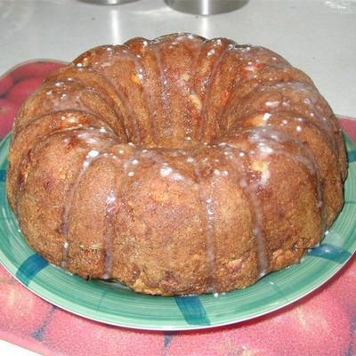 bolo de noz de maçã