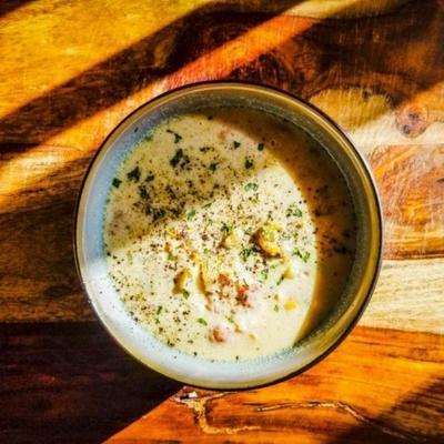 shirley's maine clam chowder