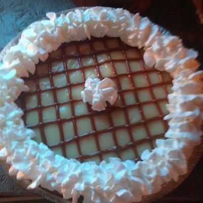 torta de caramelo de banana ii