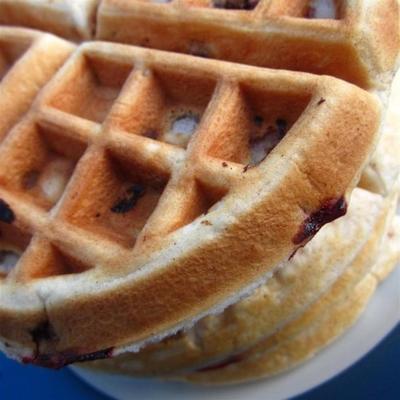waffles de noz-pecã