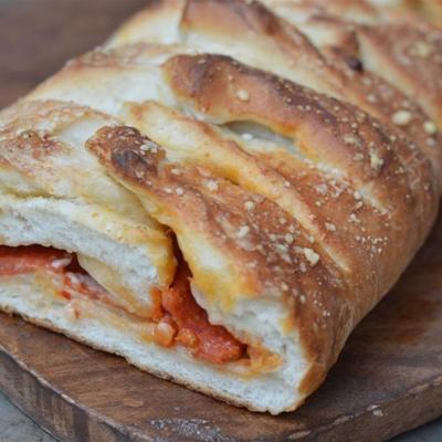 pão de calabresa fácil