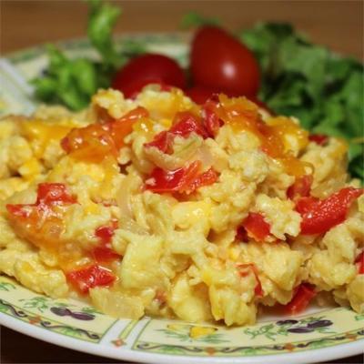 ovos mexidos vegetarianos extremos