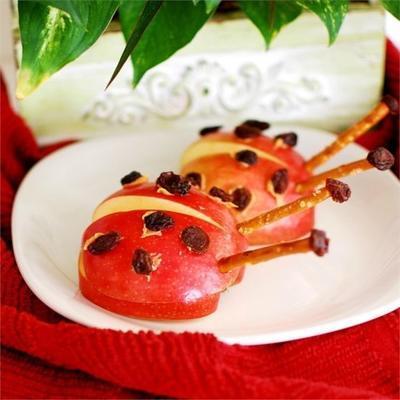 joaninha de maçã trata