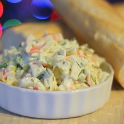 delicioso molho de salada krabby