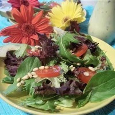 fresco como uma salada primavera daisy