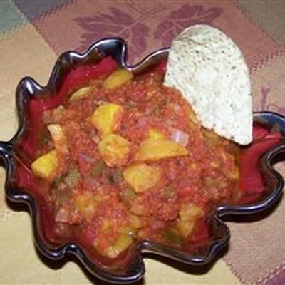 salsa peachanero bêbado