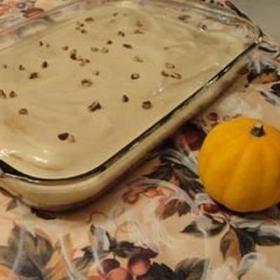 me fez amor bolo de abóbora