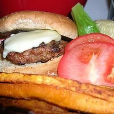 hambúrgueres de vitela bistrô