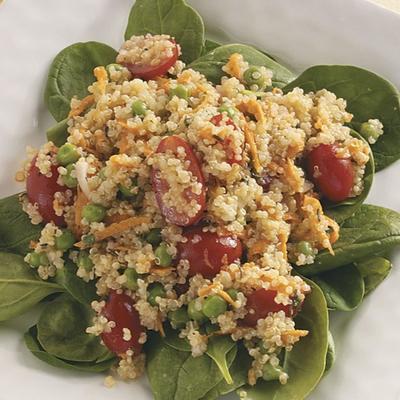 salada de legumes quinoa