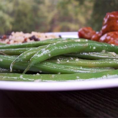 fácil feijão verde jardim