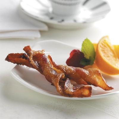 torções de bacon temperadas