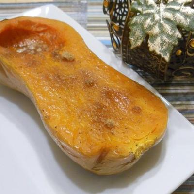 polpa de butternut assada