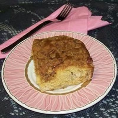bolo de maçã sueco