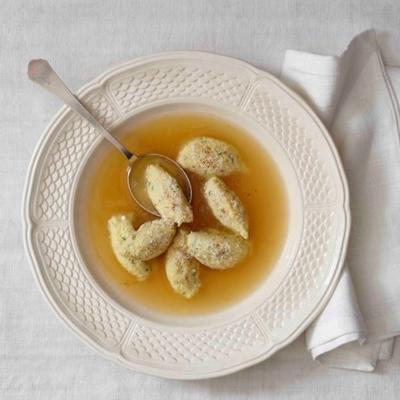 bolinhos de sêmola italiana