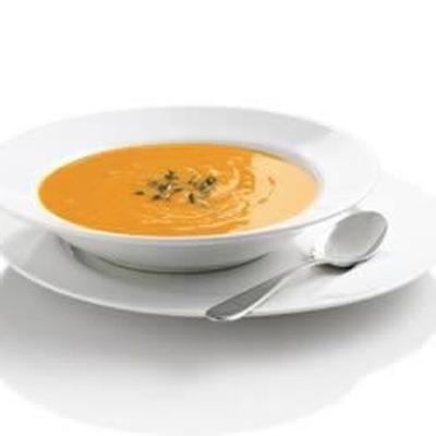 Sopa de batata doce de simplesmente batatas®