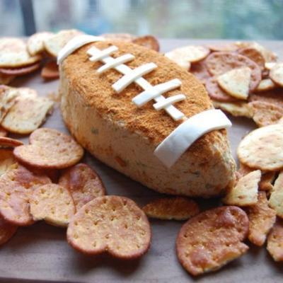 bola de queijo de futebol