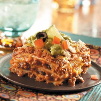 a melhor lasanha mexicana de sempre