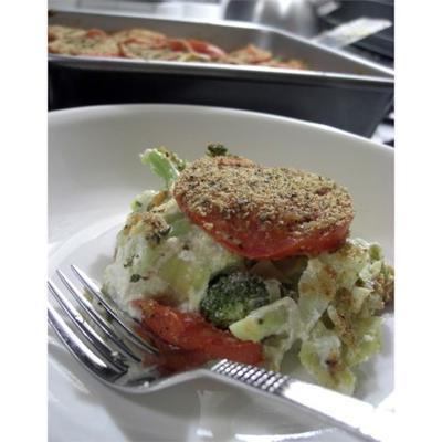 brócolis e alcachofra cozer