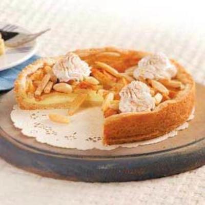 torta de queijo creme de maçã