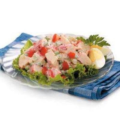 caranguejo louis salada