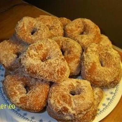 donuts de fabricante de pão