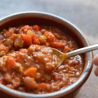 pimentão vegetariano de lucie