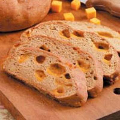 pão de centeio de queijo