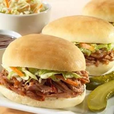 churrasco da irmã schubert®® puxado por carne de porco ou mini-sliders de frango