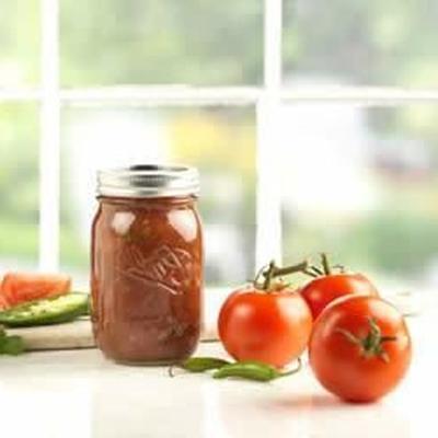 salsa fresca do jardim