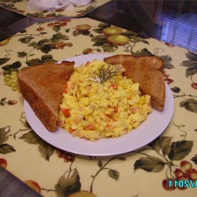 ovos mexidos esfumados