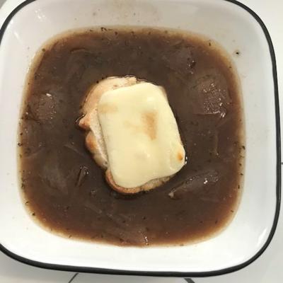 sopa de cebola francesa de marielle