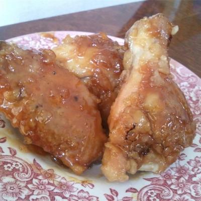 molho de asa de frango laranja picante