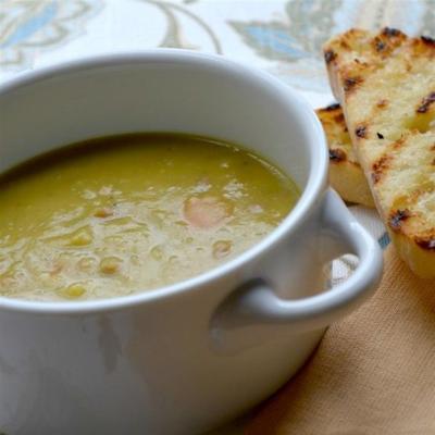 receita de sopa de ervilha e presunto - uma ótima sopa