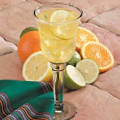 chá gelado de citrinos
