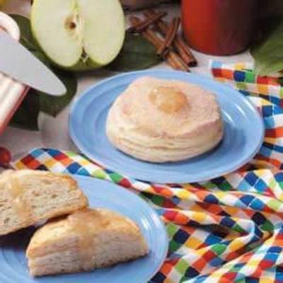 bismarcks de canela de maçã