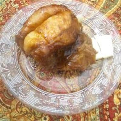 pão de macaco caramelo