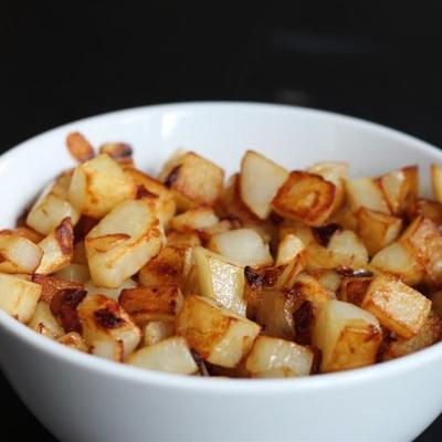 Batatas fritas com manteiga