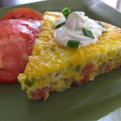 omelete denver cozido