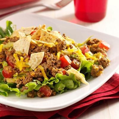 salada de taco jardim fresco
