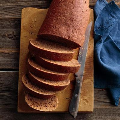 pão de centeio do velho mundo