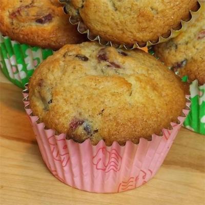muffins de tangerina de amora