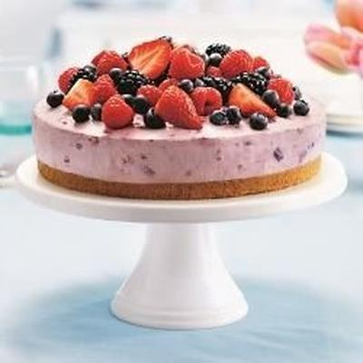 cheesecake da bênção da baga