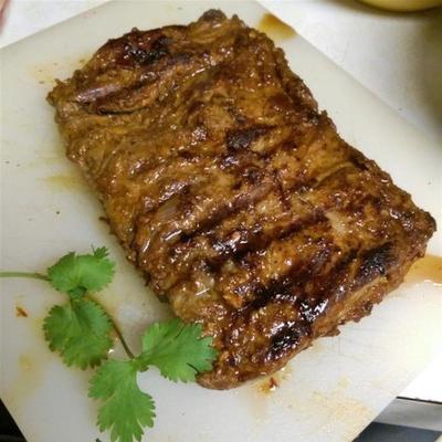 bife de saia grelhado chipotle