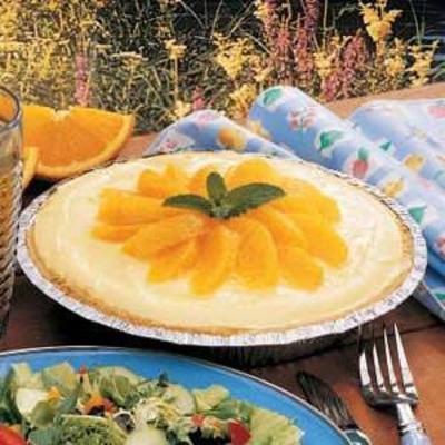 torta de laranja geladeira