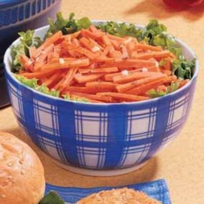 salada de cenoura em conserva