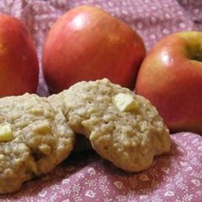biscoitos de aveia maçã eu