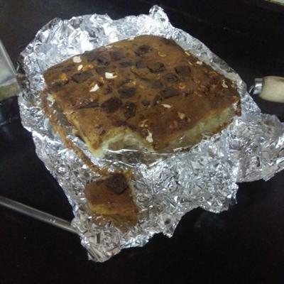 barras de biscoito inglês caramelo de mona