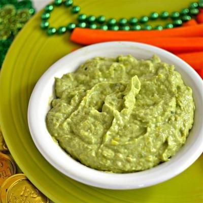 abacate verde alho-poró