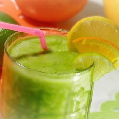 smoothie de mojito de energia verde